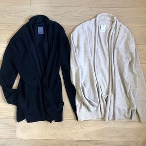 Zara girl's easy to wear cardigans